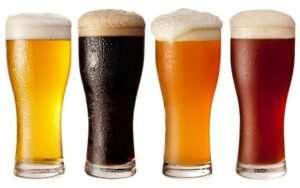 cuales son los diferentes tipos de cerveza que existen