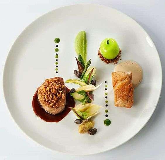 que es emplatado en gastronomia